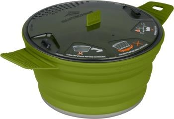 Sea to Summit X-Pot Folding Camping Cookware 2.8L Olive
