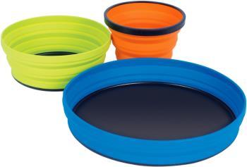 Sea to Summit X-Set 3 Folding Tableware Set, 3pcs Orange