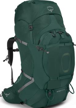 Osprey Aether Plus 100 S/M Expedition Backpack, 98L Axo Green