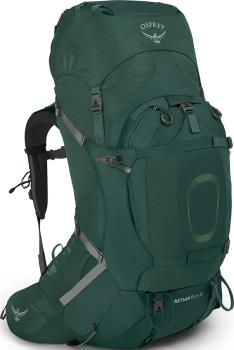 Osprey Aether Plus 60 S/M Expedition Backpack, 58L Axo Green