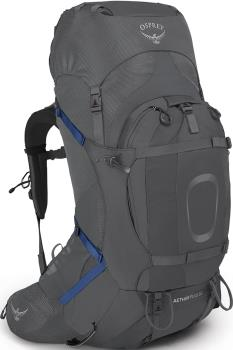 Osprey Aether Plus 60 S/M Expedition Backpack, 58L Eclipse Grey