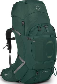 Osprey Aether Plus 70 S/M Expedition Backpack, 68L Axo Green