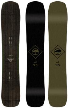 Arbor Crosscut Positive Camber Snowboard, 158cm 2020