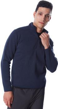 Arcteryx Covert Half Zip Men's Technical Fleece, L Kingfisher Heather