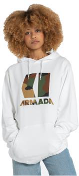 Armada Icon Pullover Snowboard/Ski Hoodie, L White