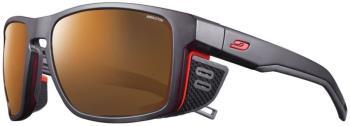 Julbo Adult Unisex Shield Reactiv 2-4 Mountain Sunglasses, Os Black/Orange
