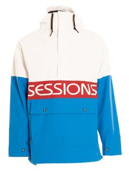 Sessions Chaos Pullover Ski/Snowboard Jacket, L Blue