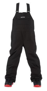 Bonfire Adult Unisex Reflect Bib Ski/Snowboard Pants, S Black