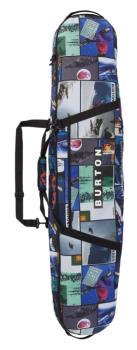 Burton Board Sack Snowboard Bag, 146cm Catalog Collage Print