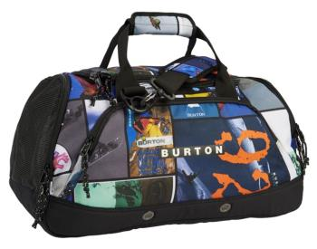 Burton Adult Unisex Boothaus Bag 2.0 Duffel Bag, 35l Catalog Collage Print