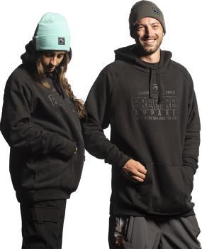Brethren Apparel Shredduh 2.0 Ski/Snowboard Hoodie, M Familia/Black