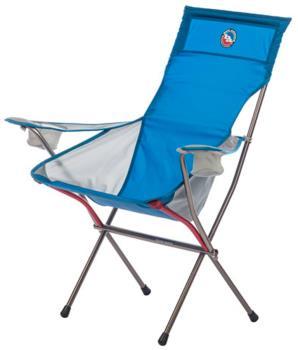 Big Agnes Big Six Armchair Deluxe Outdoor Chair, Blue/Gray