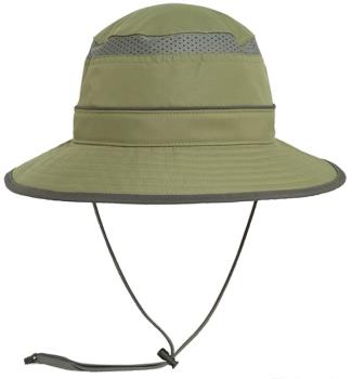 Sunday Afternoons Solar Bucket Wide-Brimmed Sun Hat, M Chaparral