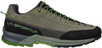 La Sportiva TX Guide Leather Approach Shoe, UK 12/EU 47 Clay/Kale