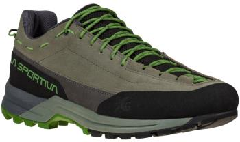 La Sportiva TX Guide Leather Approach Shoe, UK 9.5+/EU 44 Clay/Kale