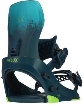 Flux CV Snowboard Bindings, L Navy 2022