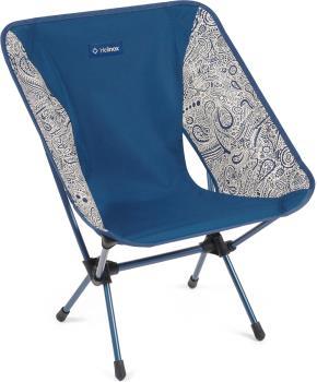 Helinox Chair One Lightweight Compact Camp Chair, Blue Paisley
