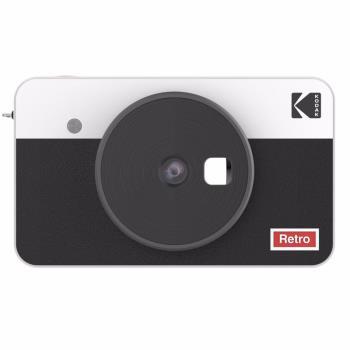 Kodak Mini Shot 2 Retro 10MP Combo Camera & Printer, White