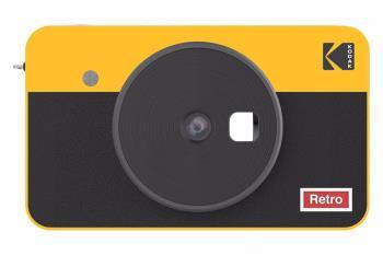 Kodak Mini Shot 2 Retro 10MP Combo Camera & Printer, Yellow