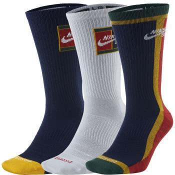Nike SB Adult Unisex 3 Pack Everyday Max Lightweight Crew Socks, M Multipack