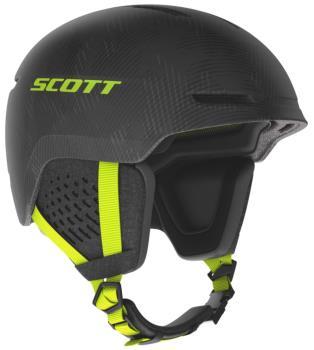 Scott Track Plus Ski/Snowboard Helmet, M Grey/Yellow