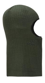 Coal The Knit Clava Ski/Snowboard Balaclava, One Size Dark Green