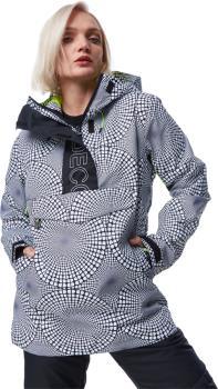 DC Envy Anorak Women's Ski/Snowboard Jacket, M Opticool