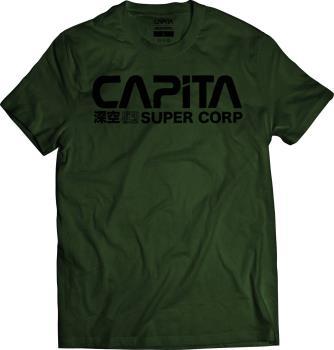 Capita Deep Space T-Shirt, S Olive