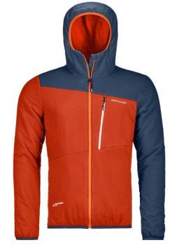 Ortovox Swisswool Zebru Light Insulated Jacket, L Desert Orange