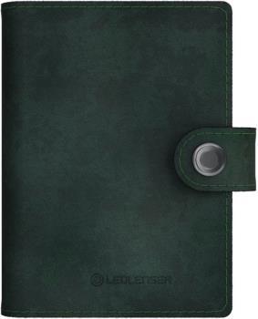 Led Lenser Lite Wallet Travel Case/LED Torch, 150 Lms Dark Forest