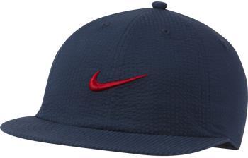 Nike SB Heritage86 Seersucker Snapback Cap, Adjustable Navy