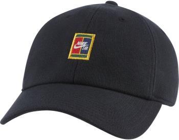 Nike SB Heritage86 Hat Adjustable Cotton Cap, Black