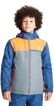 Dare 2b Depend Kid's Snowboard/Ski Jacket, Age 11-12 Denim/Orange