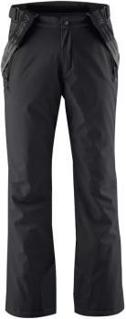 Maier Sports Anton 2 Short Snowboard/Ski Pants, XS Black
