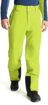 Dare 2b Achieve II Snowboard/Ski Soft Shell Pants, L Lime Punch