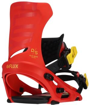 Flux DS Snowboard Bindings, M Red 2022