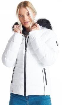 Dare 2b Glamorize II Women's Snowboard/Ski Jacket, UK 12 White