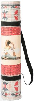 DOIY Printed Yoga/Pilates Mat, 173 x 60 cm Persian