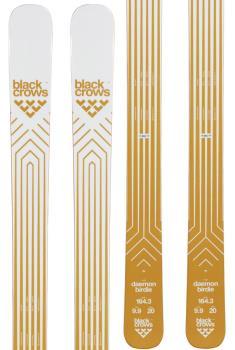 Black Crows Daemon Birdie Ski Only Women's Skis, 170cm White/Gold