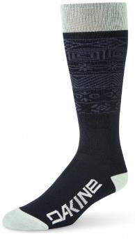 Dakine Freeride Ski/Snowboard Socks, S/M Green Lily/Hoxton