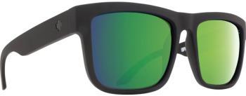 SPY Discord HD Plus Bronze Polar/Green Mirror Sunglasses, M/L Black