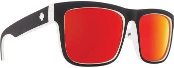 SPY Discord HD Plus Grey Green/Red Mirror Sunglasses, M/L Whitewall