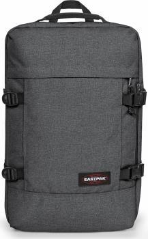 Eastpak Tranzpack Multi Purpose Backpack, 42L Black Denim