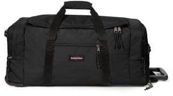 Eastpak Leatherface L + Wheeled Duffel Bag, 104L Black