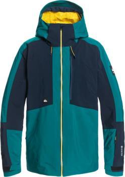Quiksilver Forever 2l Gore-Tex Ski/Snowboard Jacket, L Everglade