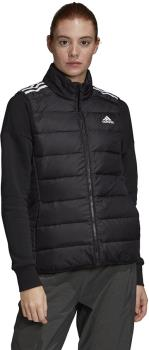Adidas Essentials Down Women's Full-Zip Gilet/Vest, M Black