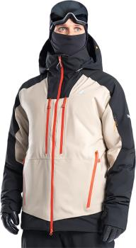 Orage Alaskan Ski/Snowboard Jacket, L Beige