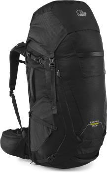 Lowe Alpine Escape Trek ND 50L+10 Trekking Backpack, 50+10L Black