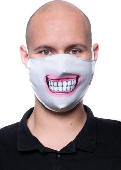 Amigo Masks Facemask Protective Reusable Face Covering, OS Cheese