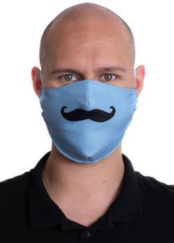 Amigo Masks Facemask Protective Reusable Face Covering, OS Hipster